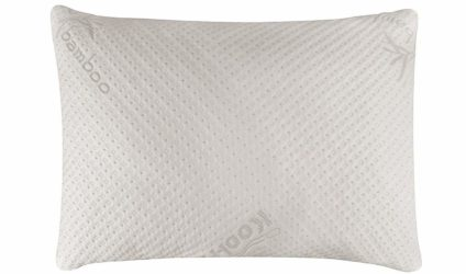 Snuggle-Pedic Bamboo Shredded Memory Foam Pillow.