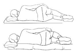 how to relieve shoulder pain from sleeping on side