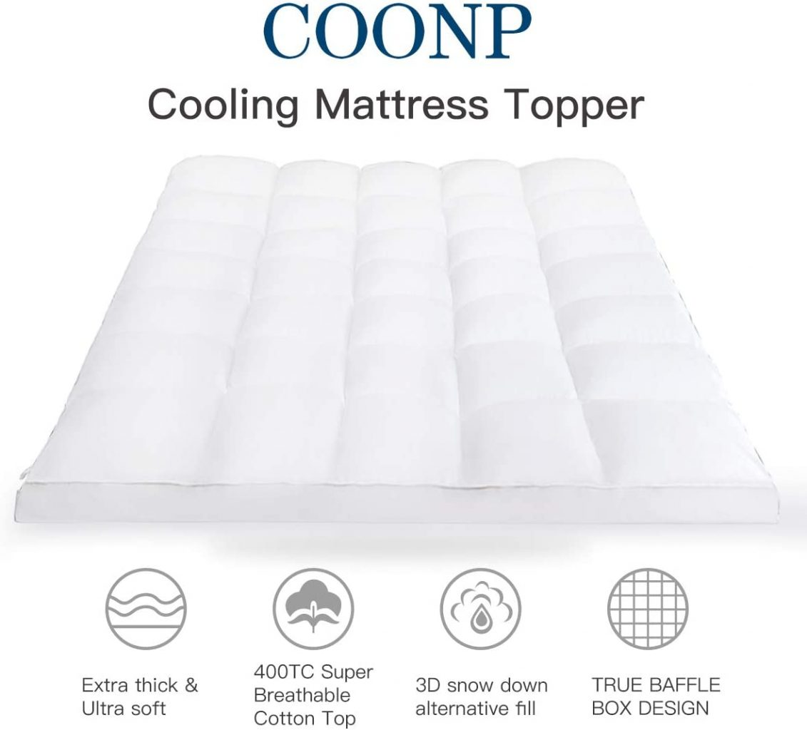Queen Mattress Topper by COONP